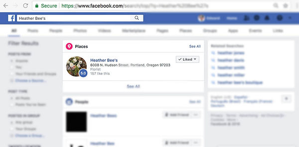 facebook screen shot to show steps to write a review on facebook step 2