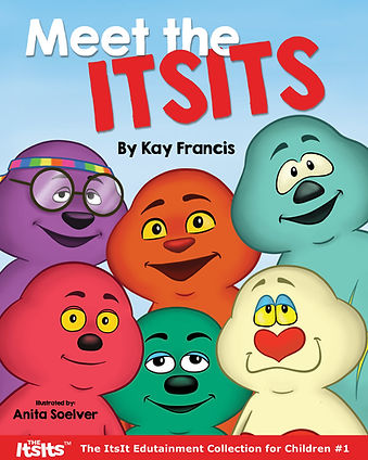 Meet the ItsIts - a children's book about friendship and starting new adventures