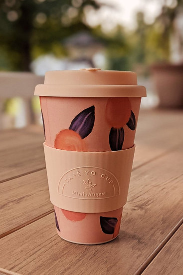 Cafe Yo Cup peach