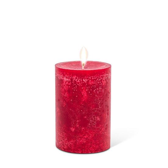 Red Pillar candle sm