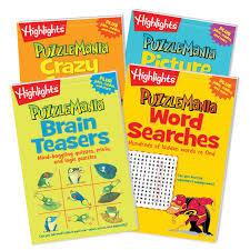 Puzzlemania 4pk books