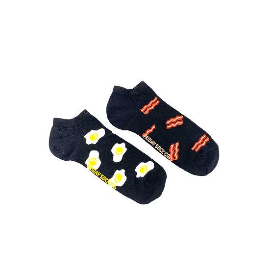 Friday Socks. Bacon N' Eggs women