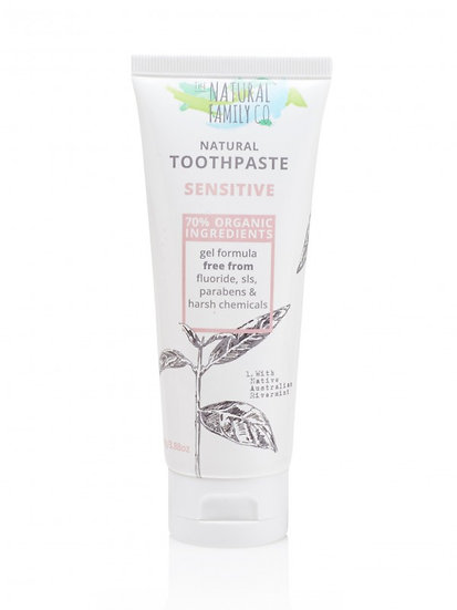 Natural Family Co. Sensitive Toothpaste