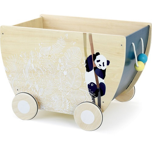 Vilac wooden toy cart