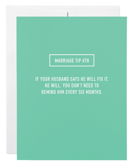 Marriage Tip #78