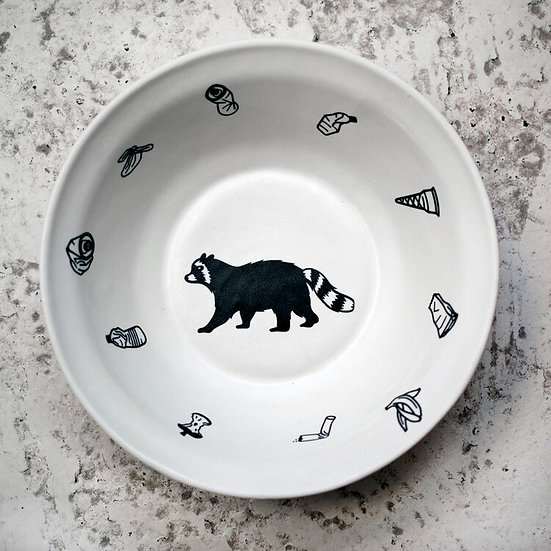 Trash Panda Snack Bowl