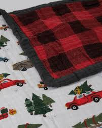 Holiday Trucks Big Kid Blanket