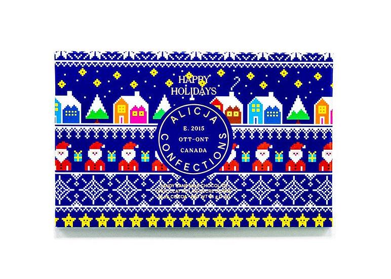 Alicja Confections Happy Holidays bar