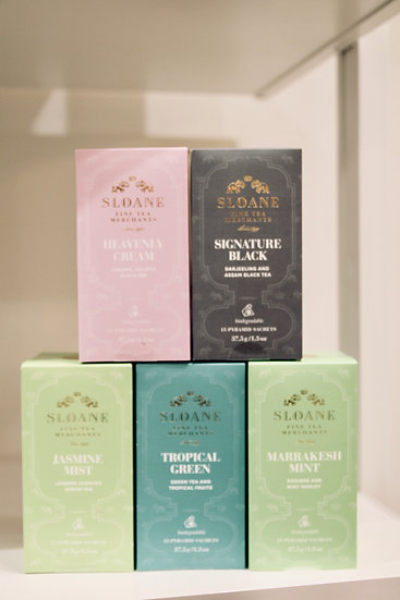 Sloane Tea Satchet's