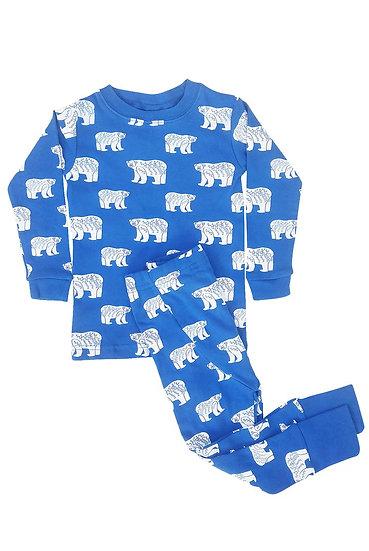 Parade Organics Blue Bears Jammies