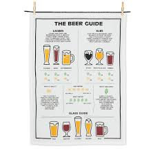 The Beer Guide Dish Towel