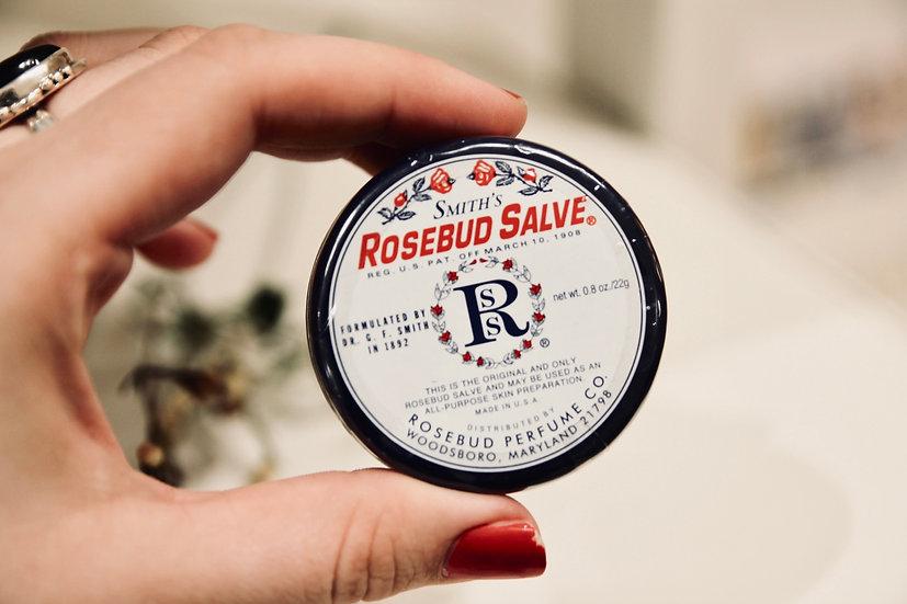 Rosebud Salve Tin