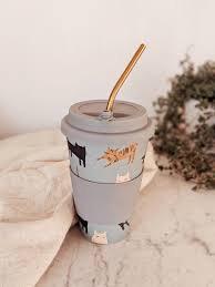 Cafe Yo Bamboo cup 'Pepito'
