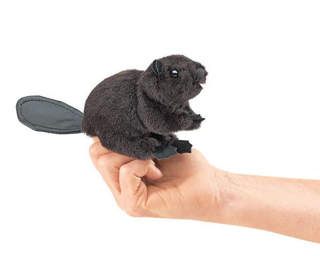 Mini Beaver puppet