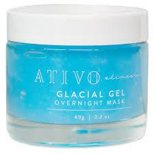Ativo Glacial Gel overnight mask
