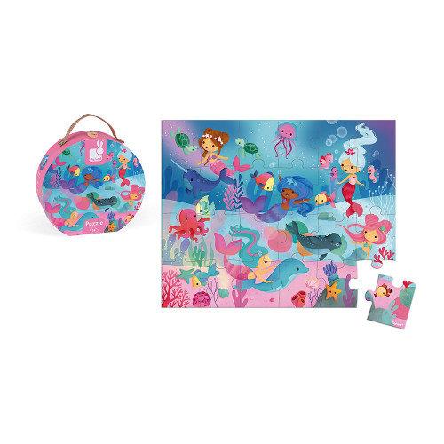 Mermaid Puzzle Janod