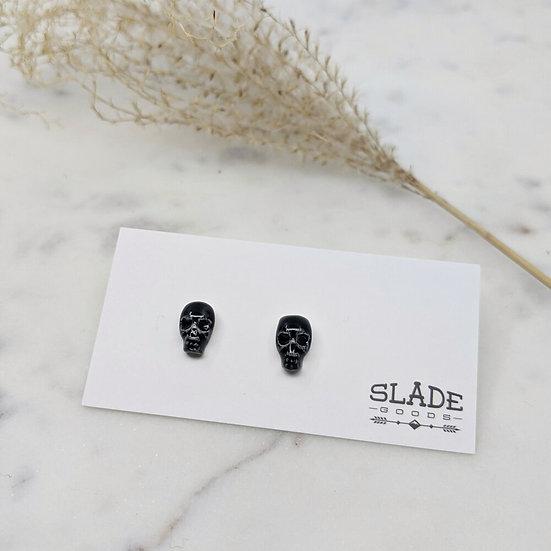 Slade Skull Obsidian
