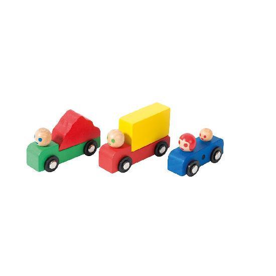 Dans la Ville - cars and truck set