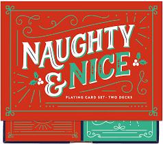 Naughty & Nice Playing cards 2pk