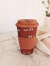 Cafe Yo Bamboo cup 'Wink'