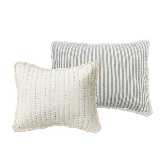 Quilted Pillow Grey