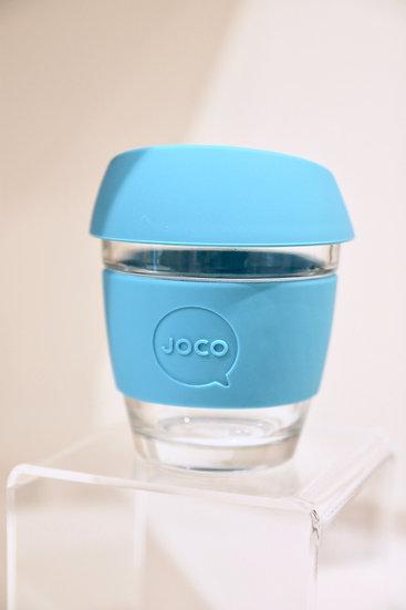 Joco Blue Glass Cup
