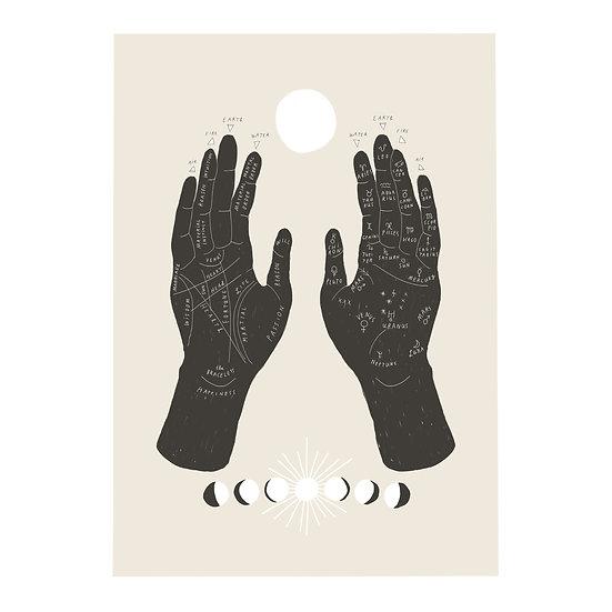Palmistry Print