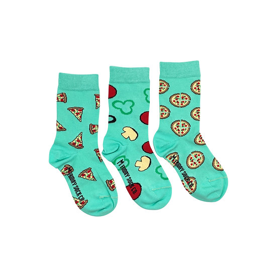 Friday Socks. Kids Pizza 5-7yr