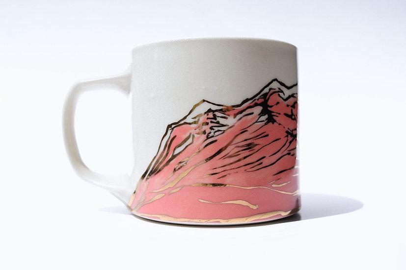 Mountain Mug Pink