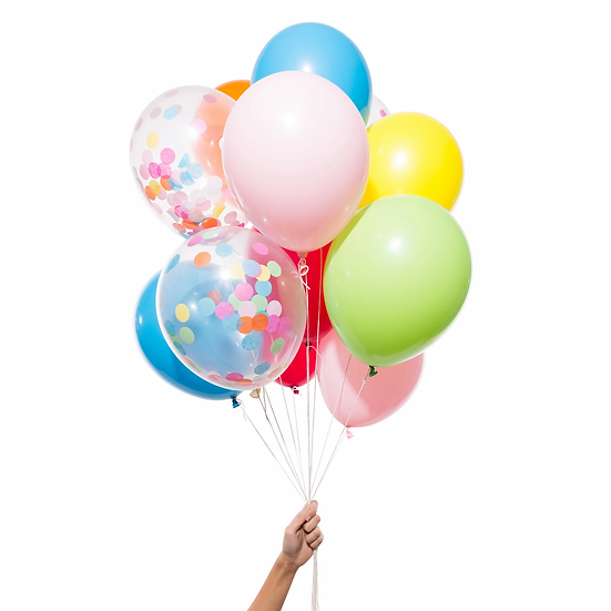 Knot & Bow Rainbow Party Balloons