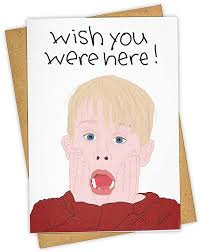 Wish You Were Here holiday card