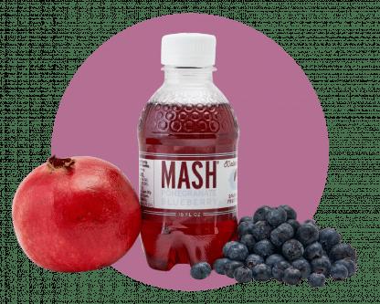 Mash Pom Blueberry