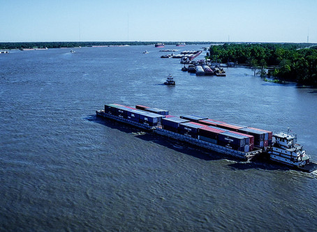 America's Central Port Awarded $1.26 Million Grant for Container on Barge & Intermodal Equipment