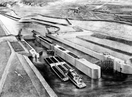 Gateway To The Gulf: How the Chain of Rocks Canal made way for America's Central Port