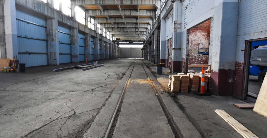 BLDG 203 - March 2021 Interior Rail Trac