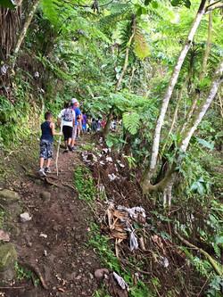 Hike to Sandy Cruz