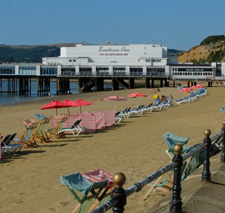 Sandown Beach, Isle of Wight