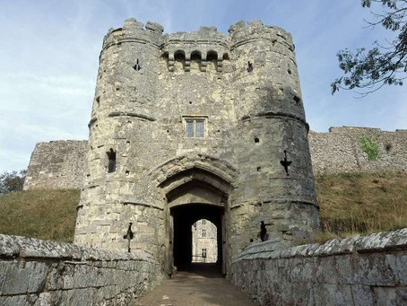 Carisbrooke Castle, Newport, Isle of Wight