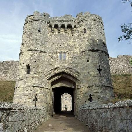 Carisbrooke Castle, Newport, Isle of Wight