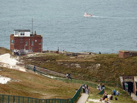 The Needles Old Battery and New Battery, Isle of Wight