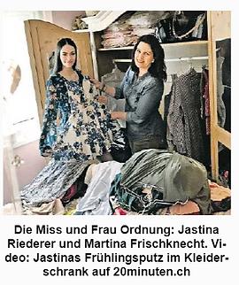 Miss Schweiz Frau Ordnung 2018 Kleidersc
