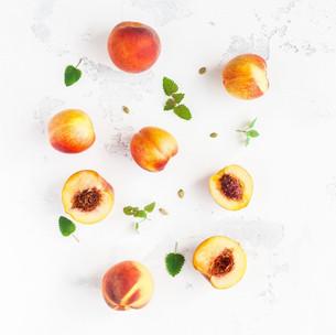Happy Valentine - Pfirsichkuchen mit Zitrone