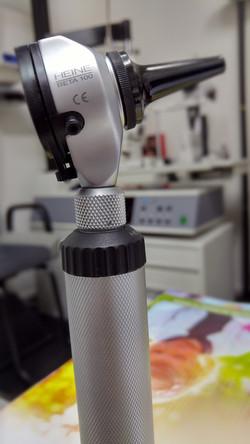 Equipamiento audiológico