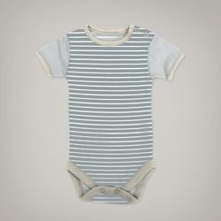 Blue Striped Onesie