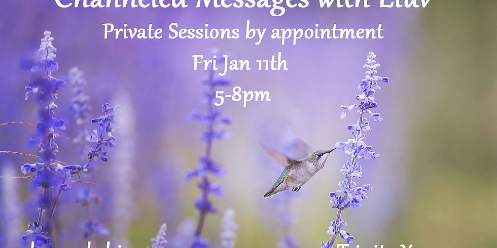 Private Readings - 5-8pm - By Appoinment Only