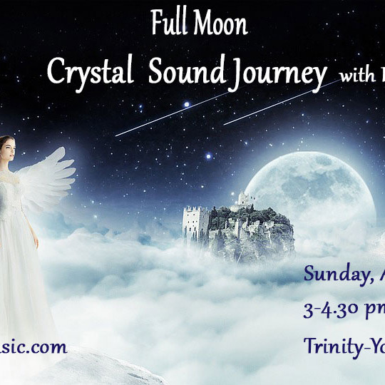 Full Moon Crystal Sound Journey with Eluv