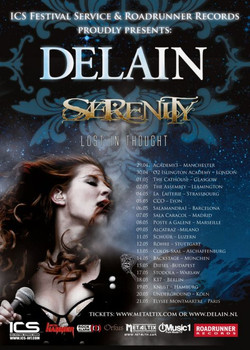 European Tour with Delain & Serenity