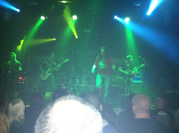 On Stage at The Assembly 02.05.2011