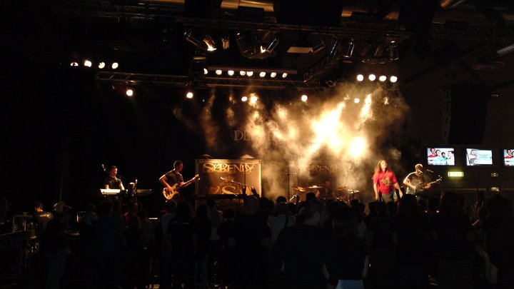 On stage at Alcatraz 09.05.2011