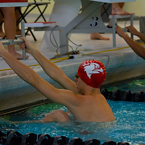 Illinois Tech Senior Night Swimming